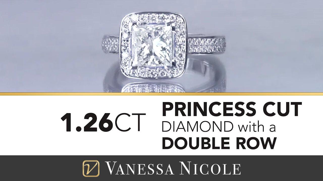 1.26ct Princess Cut Diamond Ring