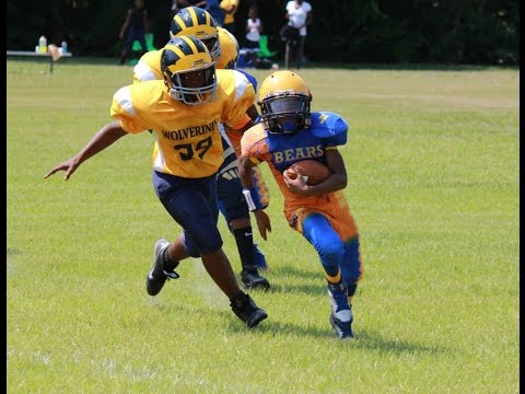 2014 Devin Graham - CLAY Bears 12u Football Highlights