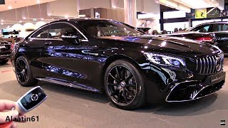 Mercedes S Class Coupe 2018   NEW REVIEW AMG S63 4Matic + Interior Exterior