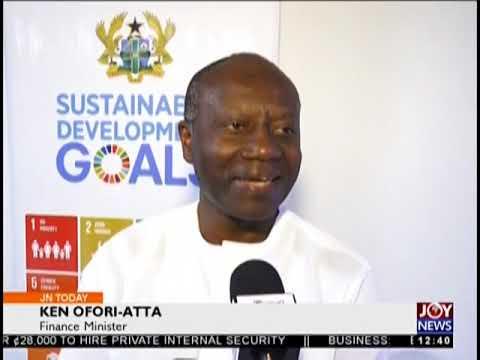 SDG Budget Baseline - Joy Business Today (16-8-18)