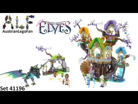 Vidéo LEGO Elves 41196 : L'attaque de chauve-souris de l'arbre Elvenstar