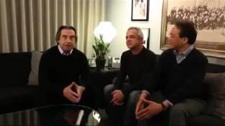 Giovanni Sollima, Riccardo Muti and Yo Yo Ma