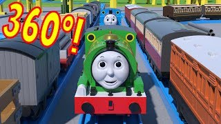 360º TOMICA Thomas And Friends: Percy's Vicarstown Special (A 360º Video With A Story!)