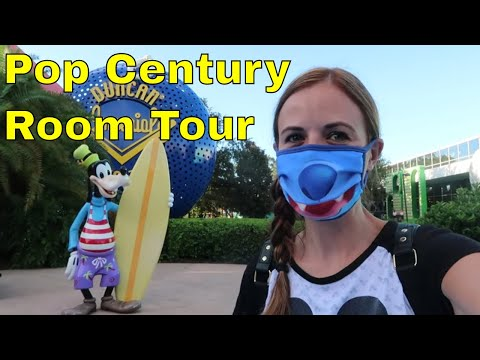 Disney's Pop Century Standard Room Tour- Walt Disney World 2020