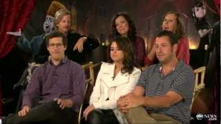 Selena Gomez, Adam Sandler, Andy Samberg, David Spade, Molly Shannon on 'Hotel Translylvania'