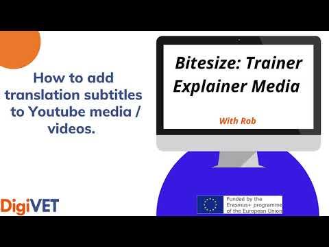 Bitesize: Trainer Explainer video and guide