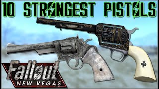 10 STRONGEST PISTOLS (Non-Energy) In Fallout: New Vegas - Caedos Countdowns