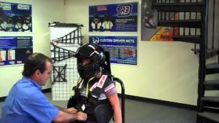 Hybrid Pro Head Restraint Tutorial