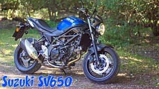 New Suzuki SV650 2016 honest review