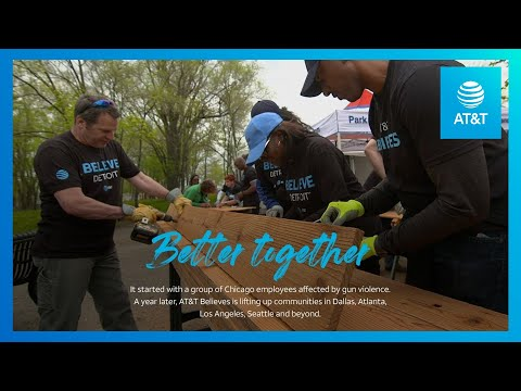 AT&T Believe Celebrates One Year Promoting Positive Change in Communities Nationwide-youtubevideotext