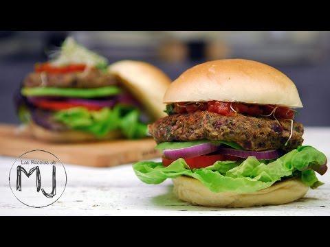 Hamburguesa 100% Vegana y Sorprendentemente Buena