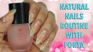 Natural Nails Routine! ☆ Zhyna