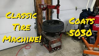 How To Use A Coats Tire Machine, Using My Coats 5030 Classic Rim Clamp!