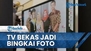 Viral Cerita Ayah Jadikan TV Bekas sebagai Bingkai Foto Wisuda, sang Anak Mengaku Senang dan Bangga