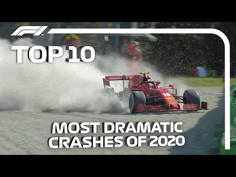 F1 2020年シーズンの中から選んだ衝撃的なクラッシュ映像10選