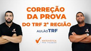 CorreçãodaProvadoTRF-2ªRegião