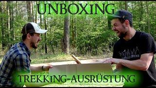 Unboxing - Trekking Ausrüstung - 1 Personen-Zelt / Aufbau / Fazit - Yellowstone Matterhorn 1