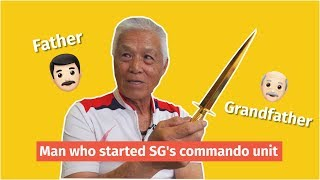 Legit Old: Clarence Tan -- S'pore's first-ever Commando officer
