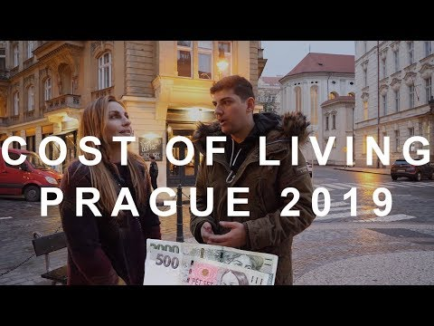 Cost of living in Prague (Czech Republic)