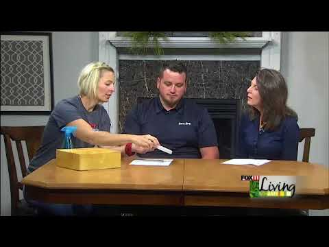 Kim and Chad explain the process of raising sunken concrete slabs with PolyLevel and on top of that they show off a product that will protect your concrete for a life time!
