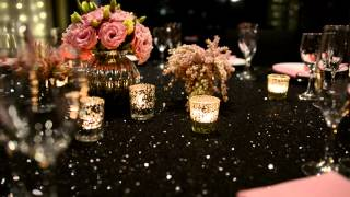 Enchanted Empire Black And Pink Wedding