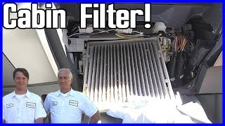 Cabin Air Filter Replacement Toyota Prius