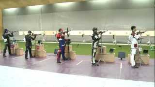 Finals 10m Air Rifle Men – ISSF World Cup in all events 2012, London (GBR)