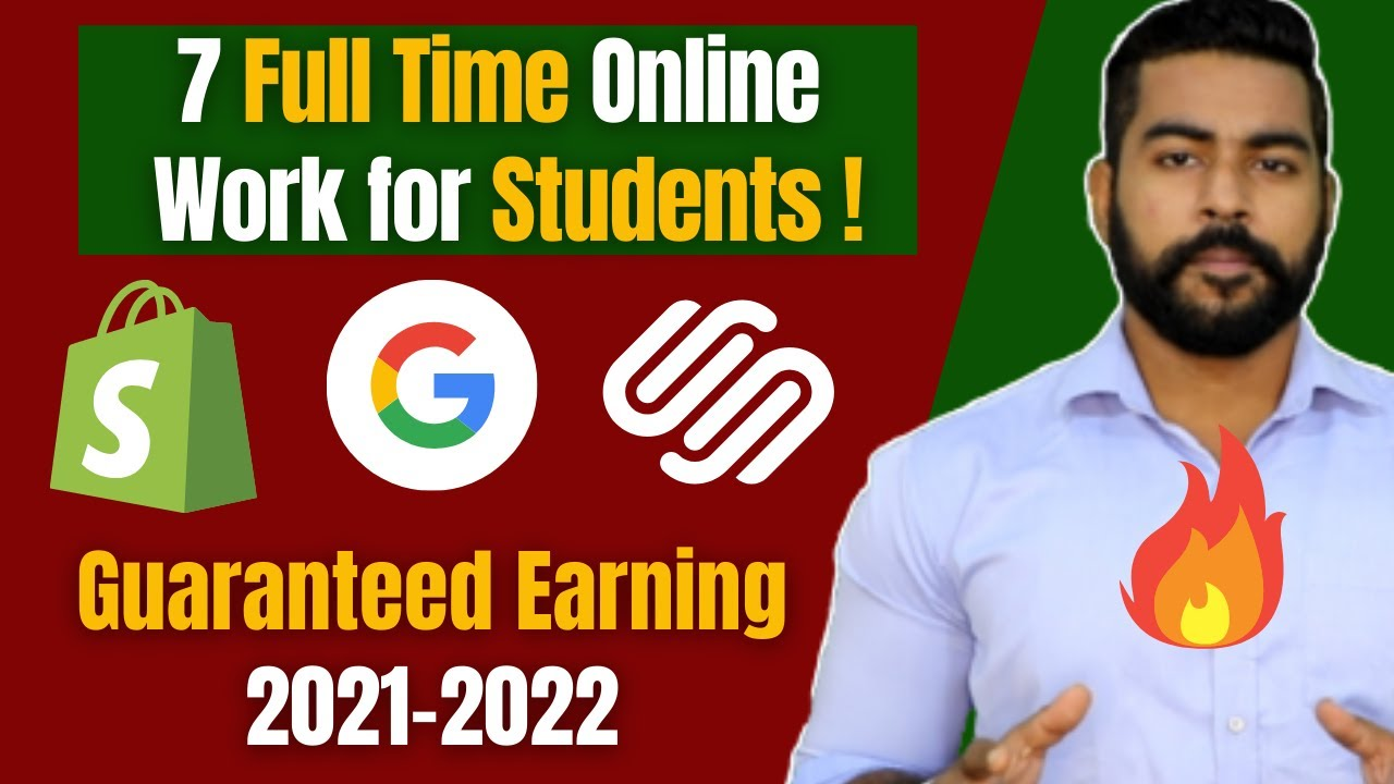 7 Immediate Online Work for Trainees Generate Income Online 2021 Praveen Dilliwala thumbnail