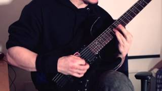 Children of Bodom - Sixpounder guitar cover.