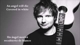 Ed Sheeran - The A Team (LETRA)