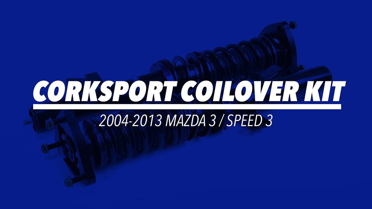 2007-2013 Mazdaspeed 3 Coilovers Video