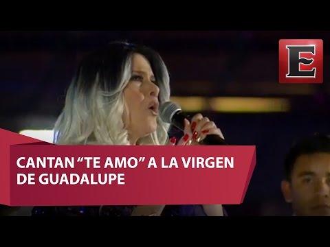 Manoella Torres encabeza homenaje a la Virgen de Guadalupe