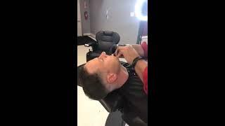"The Fade Factory -Francisco Lazo - ""Sco The Barber"" straight razor shave"
