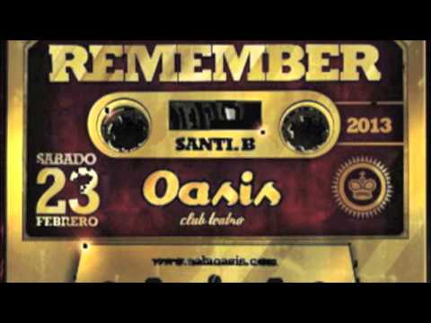 Remember Oasis club teatro 2013