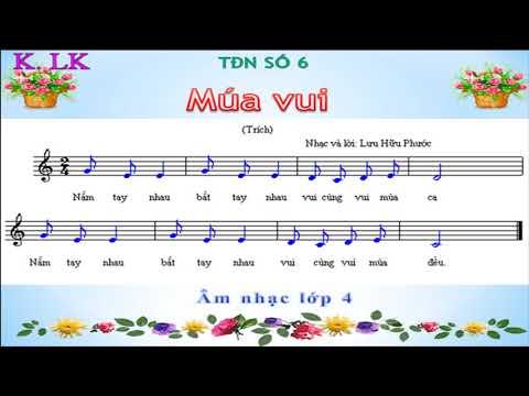 Âm nhạc: Ôn tập bài Tập đọc nhạc số 6