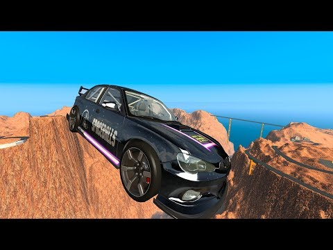 High Speed Cliff Jumps #8 - BeamNG.drive