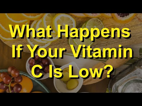What Happens If Your Vitamin C Is Low?