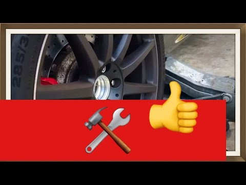 Mercedes Benz S65 AMG How to remove the Hub Cap