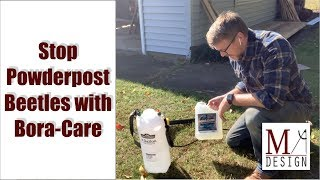 Stop Powderpost Beetles with Bora-Care