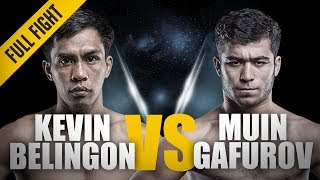 ONE: Full Fight | Kevin Belingon vs. Muin Gafurov | A Thunderous Return | October 2016
