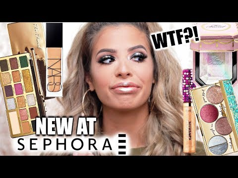 NEW MAKEUP AT SEPHORA TESTED: HIT OR MISS??