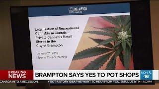 Brampton To Allow Retail Cannabis Stores