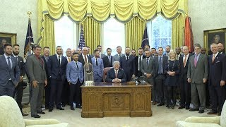 President Trump Welcomes the Houston Astros to the White House
