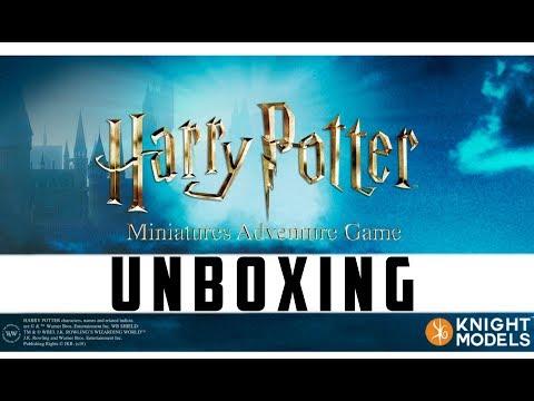 Harry Potter Miniatures Adventure Game Unboxing
