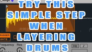 Simple Step to Great Drum Layering in Ableton Live with Grammy Nominated Producer ill Factor