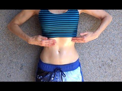 Arreglar el vientre en la semana del ejercicio de la foto