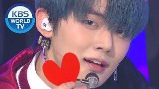 TOMORROW X TOGETHER (투모로우바이투게더)   Run Away (9와 4분의 3 승강장에서 너를 기다려) [Music Bank  2019.11.15]
