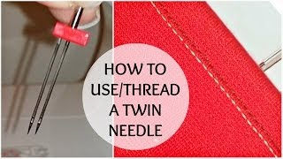 Nadira037 | How to Use a Twin Needle | Stretch Fabric