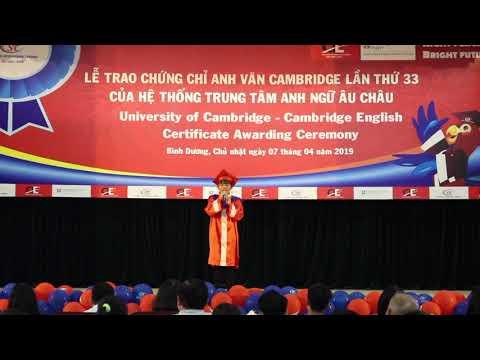 Nguyễn Ngọc Yến Nhi - Học viên xuất sắc Cấp độ KET, chi nhánh SIT Thủ Dầu Một