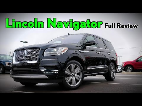 2018 Lincoln Navigator: FULL REVIEW | Black Label, Reserve, Select & Premiere